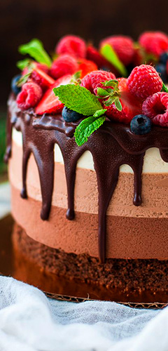 Десерты торты
